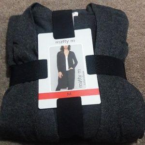 556c76cb76 Matty M Sweaters - Matty m Ladies  Duster Cardigan Sweater Charcoal